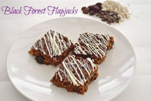 Black-forest-flapjacks