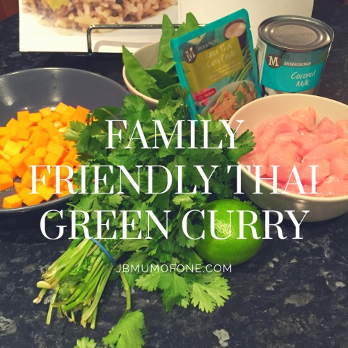 Family Friendly Thai Chicken Curry