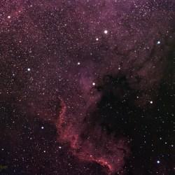 North American Nebula, NGC7000, Caldwell 20,SH2-117