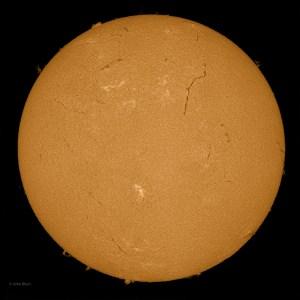 Sun 6-08-2013, Sunspot AR 1765