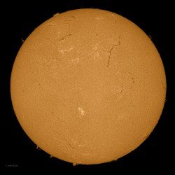 Sun 6-08-2013, Sunspot AR 1765