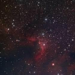 Cave Nebula, SH2-155