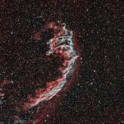 NGC 6992, Eastern Veil Nebula, NGC 6995, IC 1340