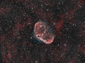 NGC 6888, Crescent Nebula, Caldwell 27, Sh2-105