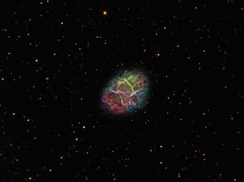 Messier 1,M1,Crab Nebula,NGC 1952