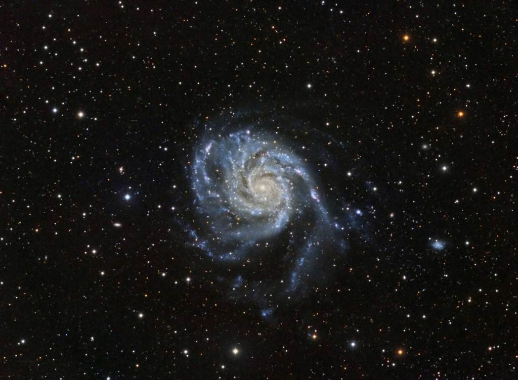 M101, Messier 101, Pinwheel Galaxy