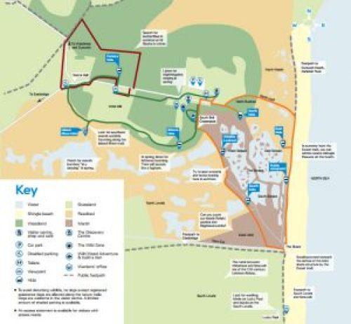 Minsmere map