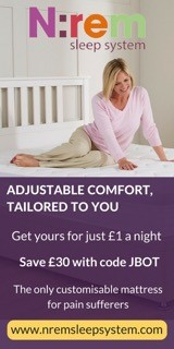 N:rem sleep system. Save £30 with code 'JBOT'