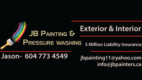 exterior and interior painting company North and West Vancouver