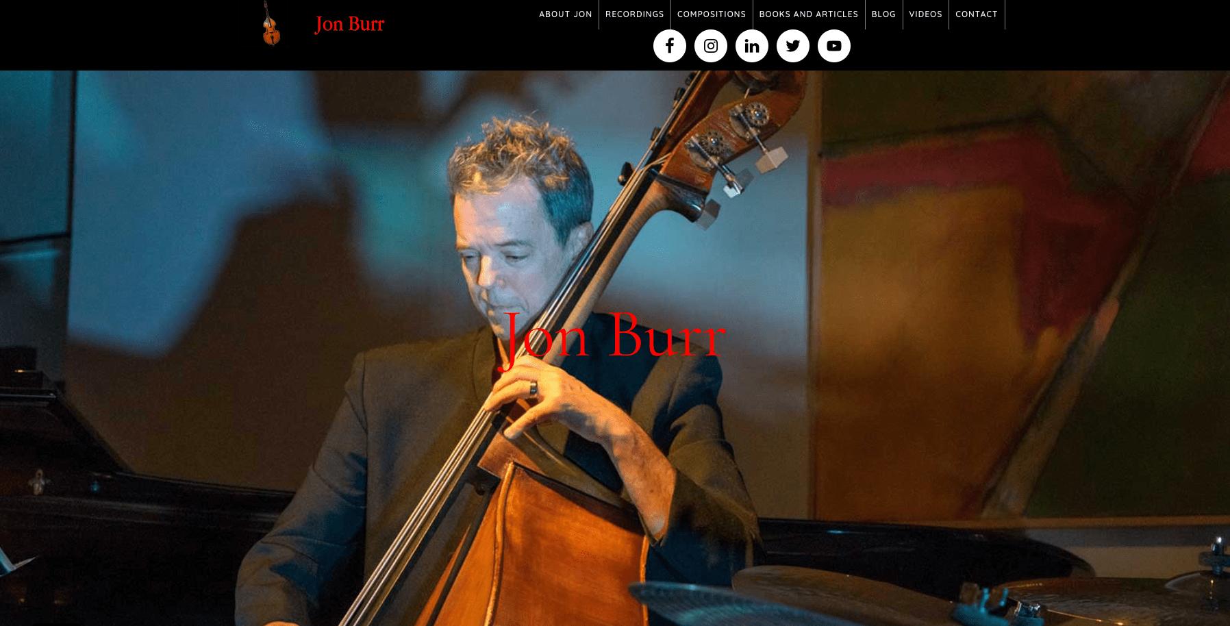 Jon Burr's Website