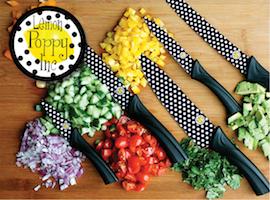 J Brandes carries Lemon Poppy knives