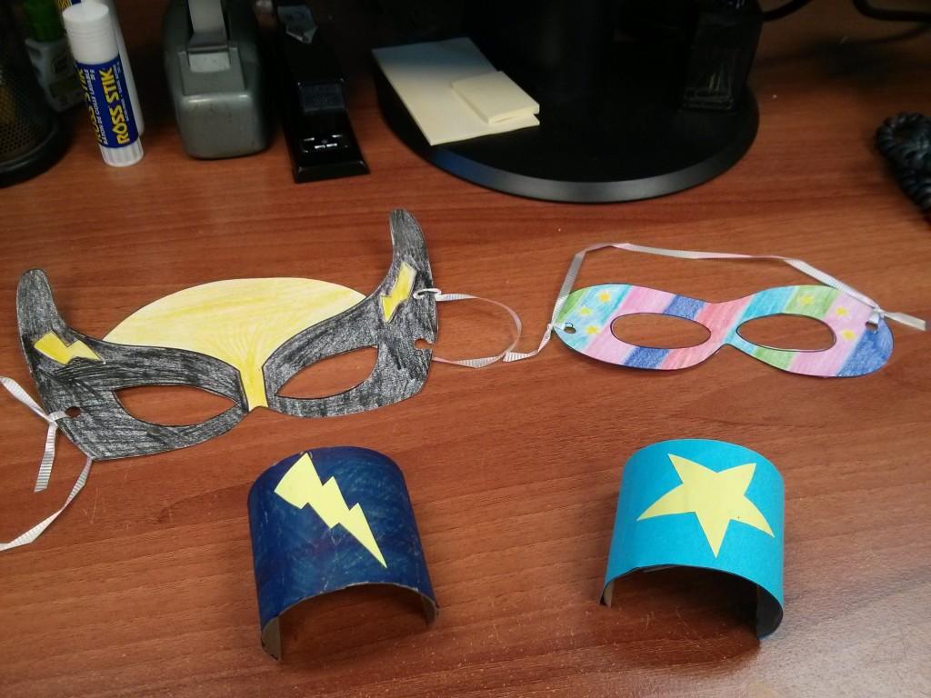 Superhero Academy Spring Break Program at the Library