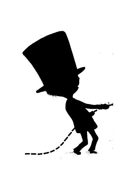 Book Character Silhouette Scavenger Hunt  Jbrary