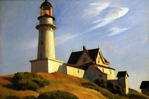Edward Hopper Lighthouse Paintings