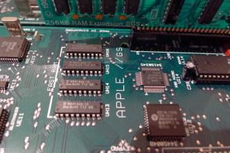 Apple IIgs silkscreening