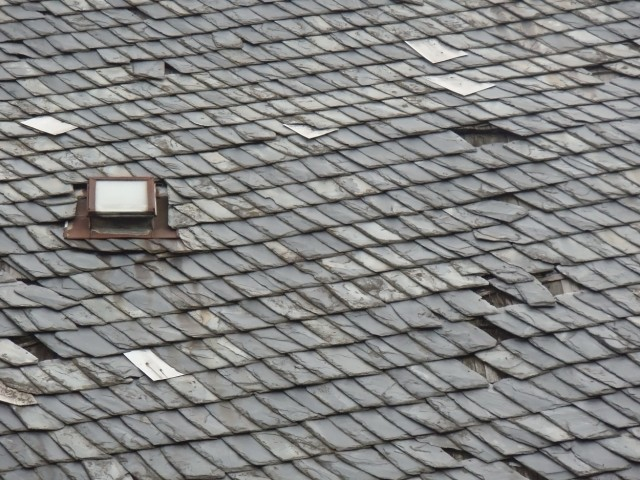 Illinois Slate Tile Roof Installation by JB Roofing
