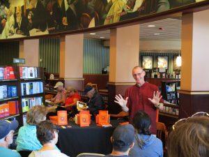 John at Barnes and Noble