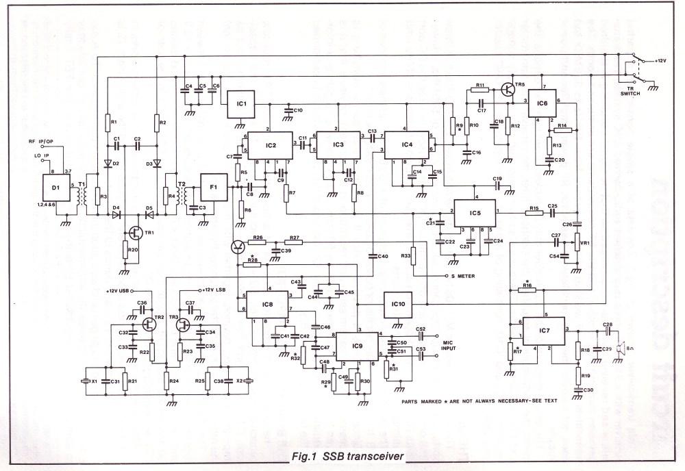 medium resolution of simple qrp transceiver circuit diagram