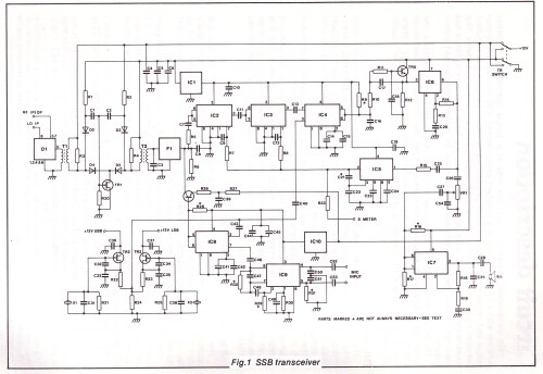 small resolution of simple qrp transceiver circuit diagram
