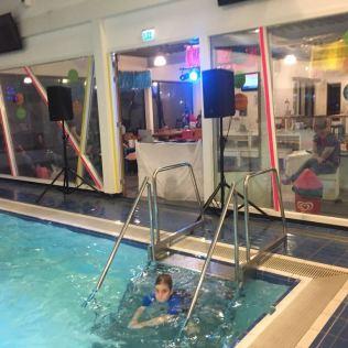 Discozwemmen bubbelsbewegen 2018