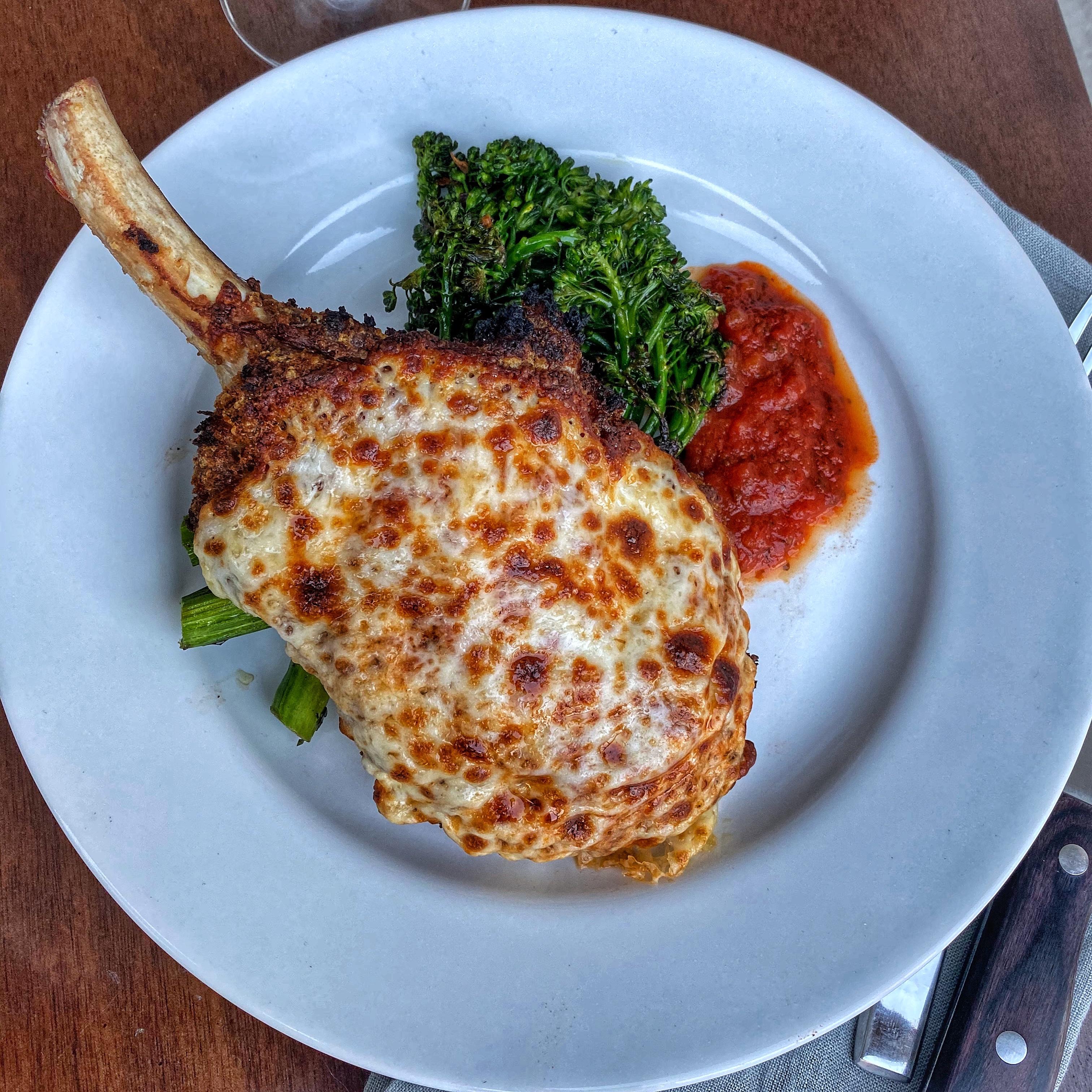 veal chop parmigiana recipe Veal Chop Parmigiana - JB Sous Vide