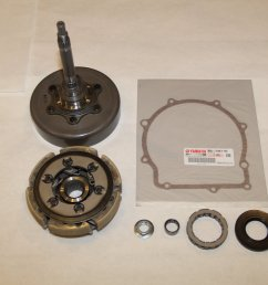 grizzly 700 oem complete wet clutch kit [ 1440 x 960 Pixel ]