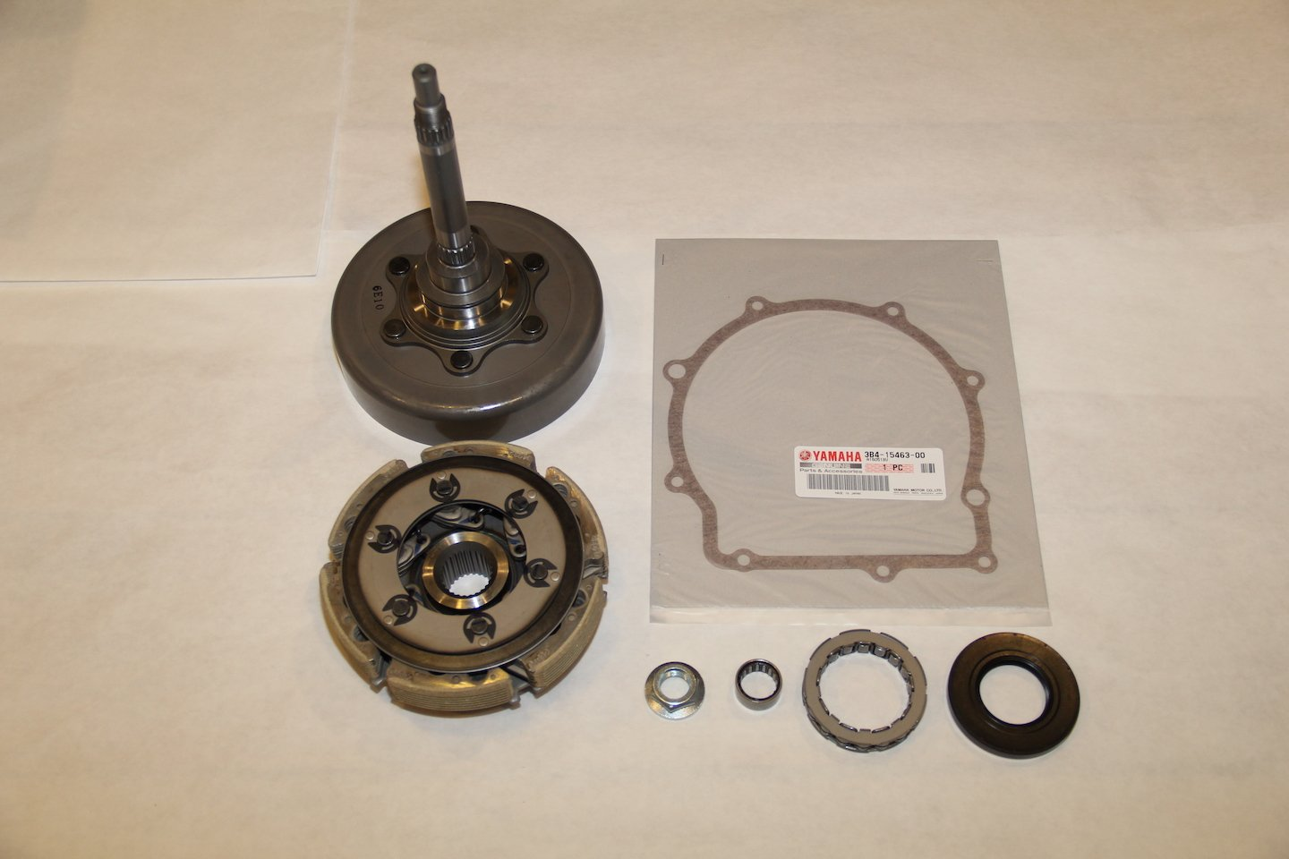 hight resolution of grizzly 700 oem complete wet clutch kit