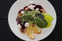 Red Beet and Goat Cheese Salad