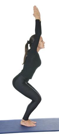 yoga chair pose black wood dining chairs of the week jbyrd journal utkatasana incorrect posture