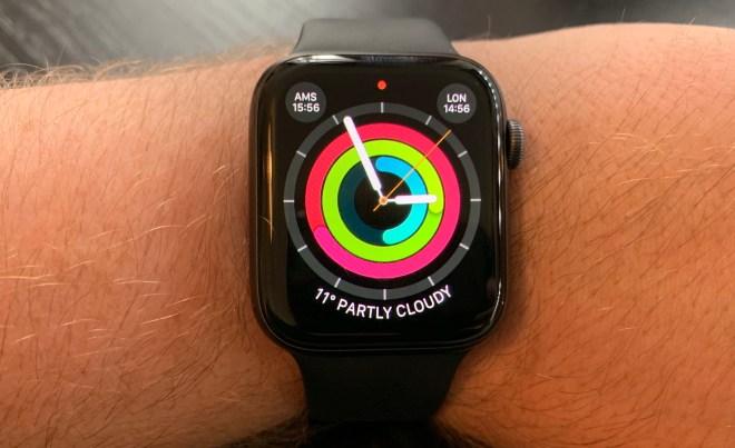 Health app on my Apple Watch