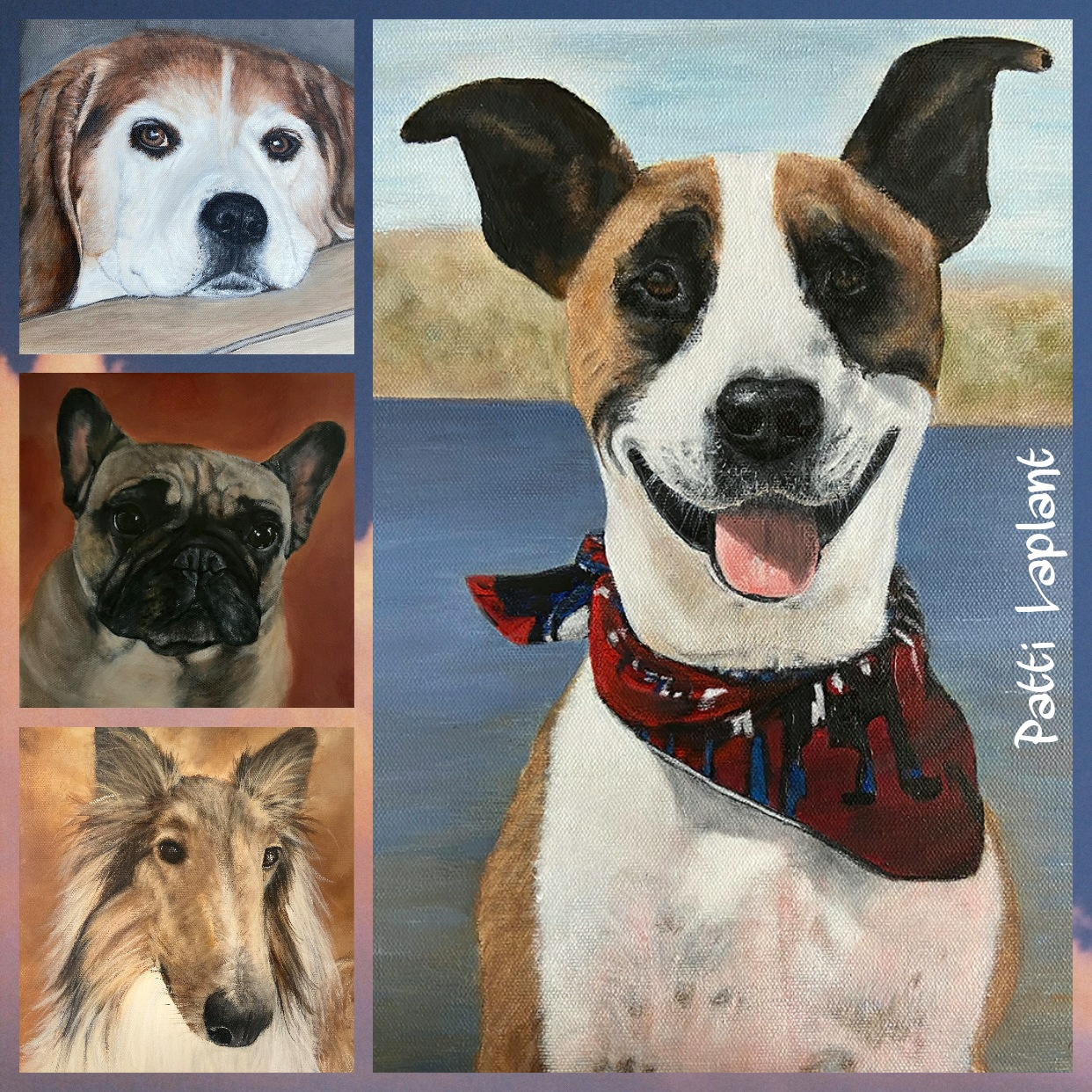 Art by Patti Laplant - Artsy Animal Contest