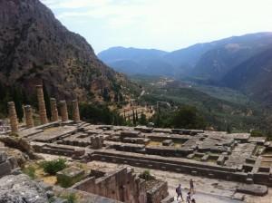 Templo y oráculo de Delfos