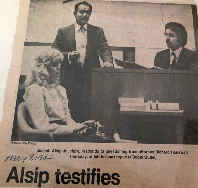 Alsip testifies