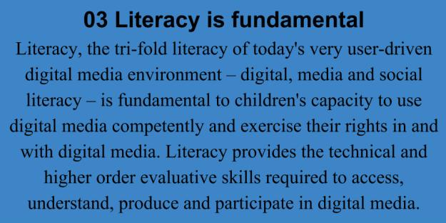 03 Literacy is fundamental