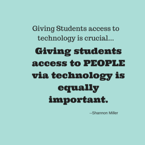 Giving Students access to technology is