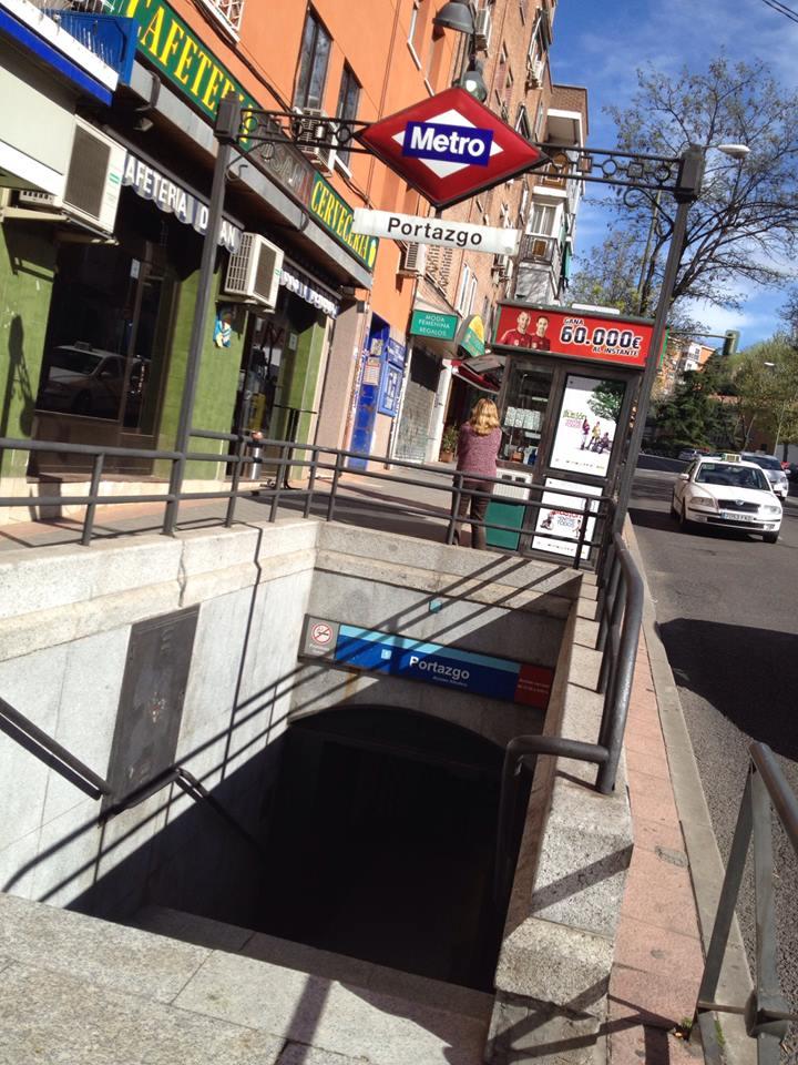 Sí, en Portazgo (pleno Vallecas, vamos..)