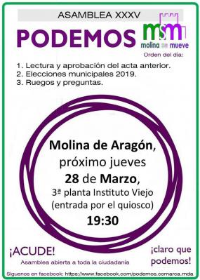 Molina se mueve