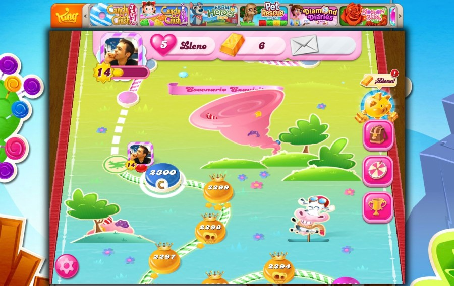 Nivel 2300 de Candy Crush