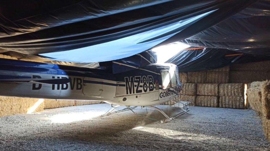 Helicóptero robado en Cuenca