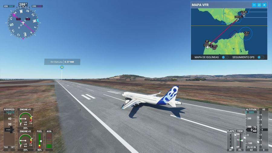 Mi primer vuelo perfecto en FS 2020