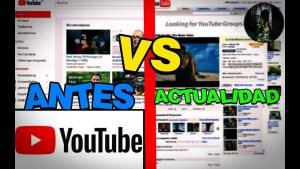 el Youtube de antes