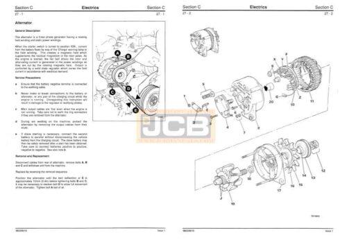 JCB Fastrac 1115, 1115S, 1125, 1135 Service Repair Manual