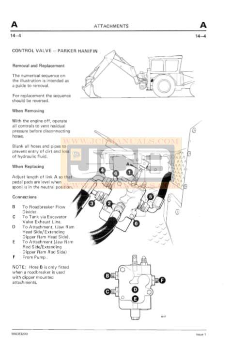 JCB 2D 2DS 3 3C 3CS 3D 700 Backhoe Loader Service Repair