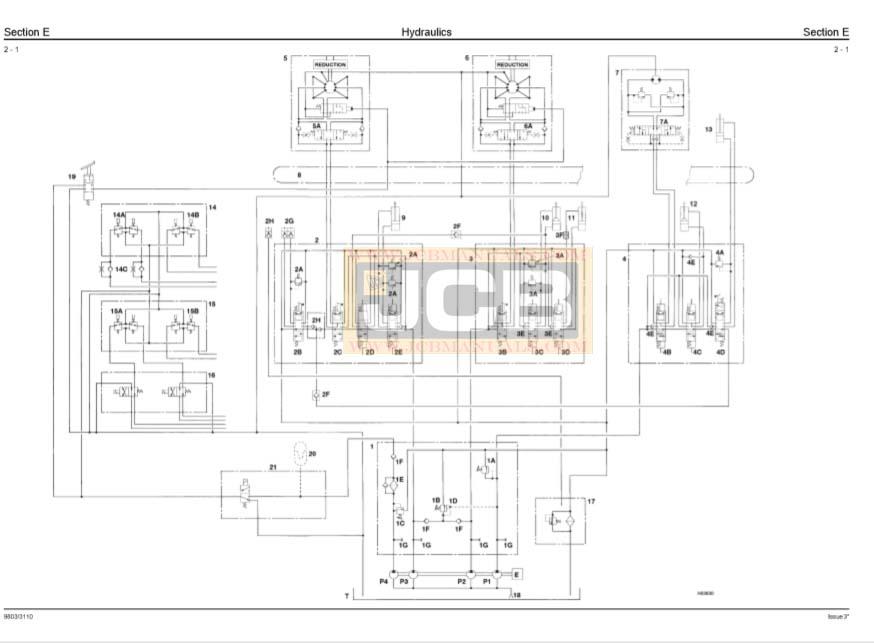 JCB Mini Excavator 802.7 803 804 Service Repair Manual