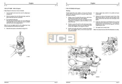 JCB Wheel Loader 406, 407, 408, 409 Service Repair Manual