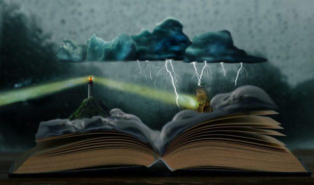 Imaginación para escribir un libro