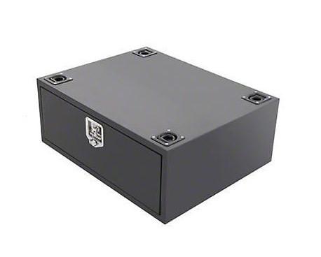 Smittybuilt Security Storage Vault; Rear Lockable Storage Box