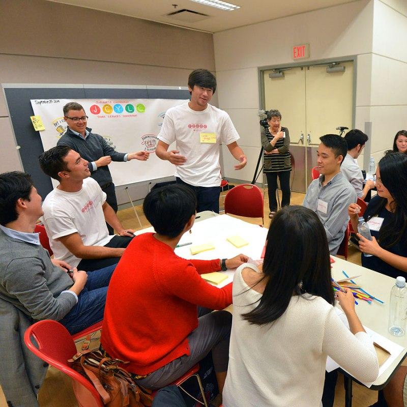 2014年9月に開催されたJCYLC(日系カナダ人青年リーダー会議)