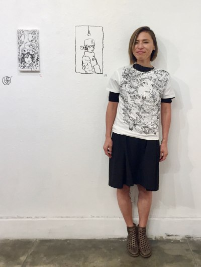 Sleepless kao@Giant Robot Gallery in L.A.