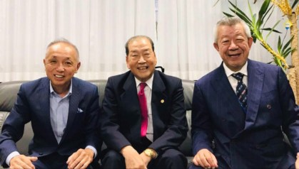 Left to right: Sammy Takahashi, Toshio Takai.